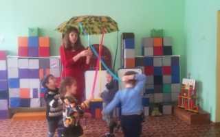 Конспект НОД для детей с ОНР – Детский сад