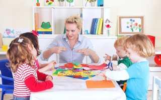 Работа воспитателя в группах для детей с общим недоразвитием речи (ОНР)