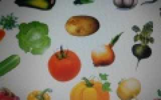 Овощи-фрукты – конспект индивидуального лексико-грамматического занятия