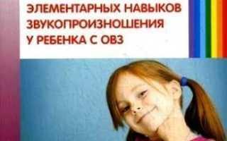 Речь и мышление ребенка с ОВЗ с общим недоразвитием речи