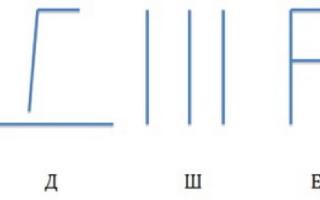 Звук и буква Щ – конспект логопедического занятия