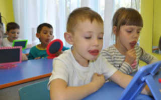 Особенности развития и формирования словаря у детей с нарушениями речи