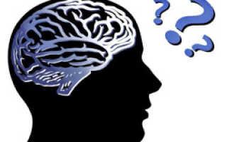 Снижение памяти у пациентов с острым нарушением мозгового кровообращения